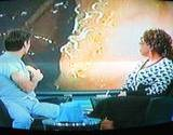 photo of Dr. Oz and Opra looking at pinworms and discussing parasite cleanse