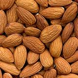 photo of a pile of almonds a natural source of isoleucine