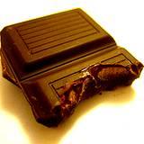 photo of dark chocolate cubes natural source of arginine