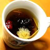 a cup of medicinal tea