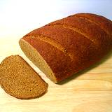 a photo of a loaf of rye bread a natural source of vitamin B5 Pantothenic Acid