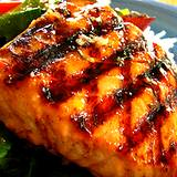 a photo of grilled salmon a natural source of vanadium