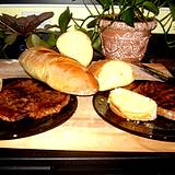 a photo of a steak dinner a natural source of Vitamin B12