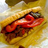 a steak sandwish good source of amino acids or protein